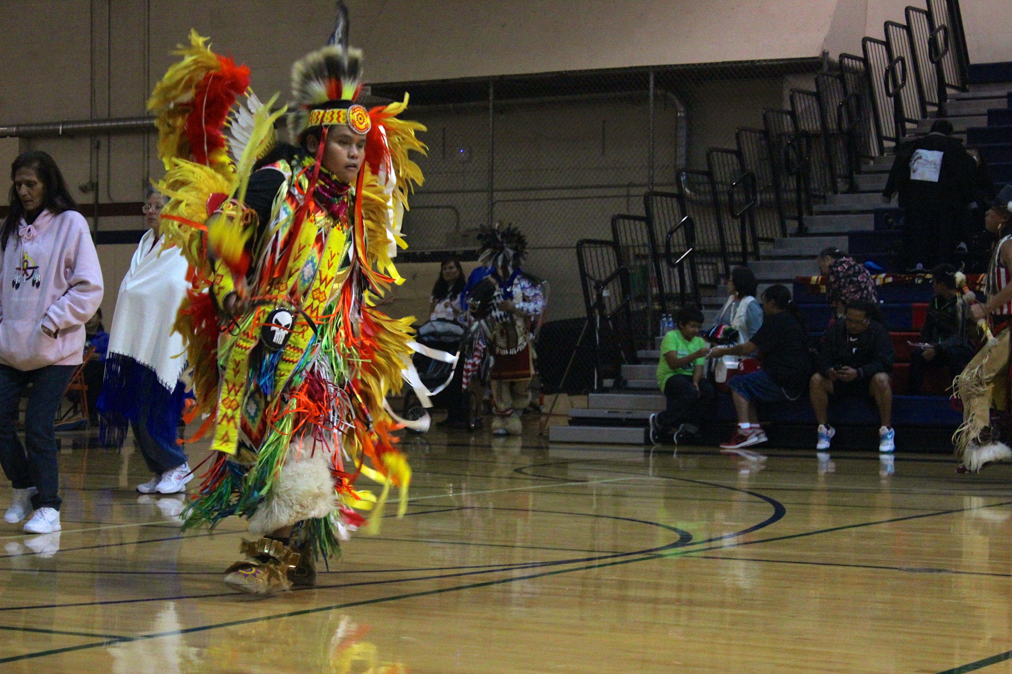 Reporter visits Native American powwows