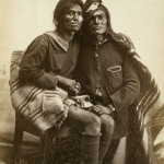 Portrait of a Navajo two-spirit couple