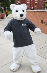 WONB Polar Bear Mascot